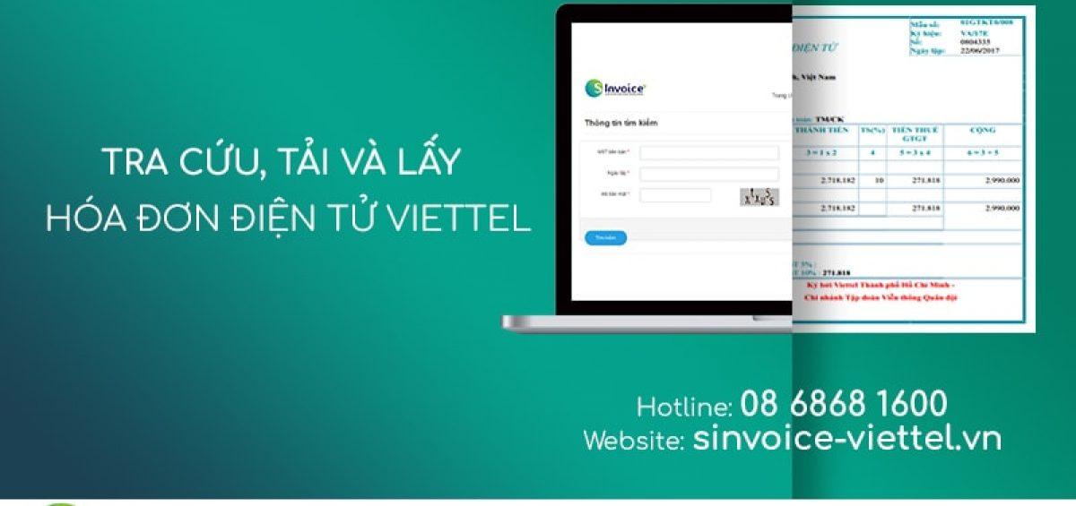 Cách tải, lấy hóa đơn điện tử Viettel chuẩn nhất (Updated 2020)